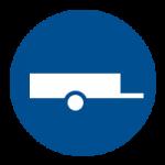 Vervoer per open aanhanger