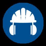 Veiligheidshelm en gehoorbescherming