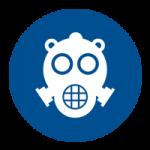 Gevaarlijke-stoffen masker